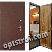Металлическая дверь для дачи - модель Д10-36