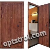Металлическая дверь для дачи - модель Д10-37