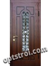 Входная металлическая дверь в загородный дом. Модель 860