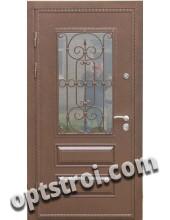 Входная металлическая дверь в загородный дом. Модель 862