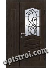 Входная металлическая дверь в коттедж - модель КТ-015