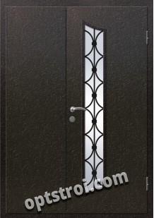 Входная металлическая дверь в коттедж - модель КТ-020