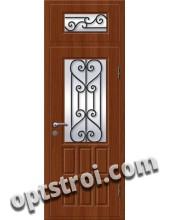 Входная металлическая дверь в коттедж - модель КТ-022