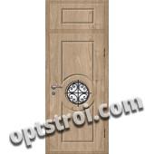 Входная металлическая дверь в коттедж - модель КТ-024
