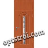 Входная металлическая дверь в коттедж - модель КТ-025