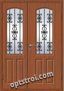 Входная металлическая дверь в коттедж - модель КТ-003