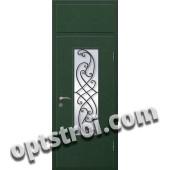 Входная металлическая дверь в коттедж - модель КТ-030