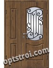 Входная металлическая дверь в коттедж - модель КТ-005