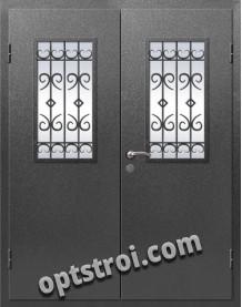 Входная металлическая дверь в коттедж - модель КТ-006