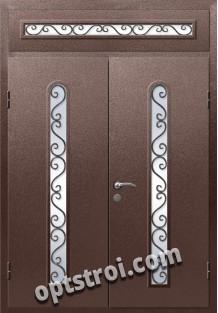 Входная металлическая дверь в коттедж - модель КТ-007