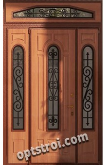 Нестандартная  металлическая дверь. Модель Гардарика