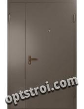 Нестандартная  металлическая дверь. Модель Норд