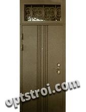 Нестандартная  металлическая дверь. Модель Тевтон