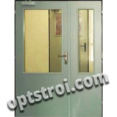 Нестандартная  металлическая дверь. Модель Простор