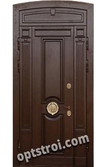 Нестандартная  металлическая дверь. Модель Ассирия