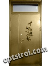 Нестандартная  металлическая дверь. Модель Прованс