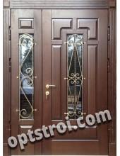 Теплая металлическая входная дверь для дома - модель 900