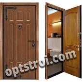 Теплая металлическая входная дверь для дома - модель 902