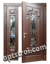 Теплая металлическая входная дверь для дома - модель 905