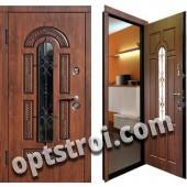 Теплая металлическая входная дверь для дома - модель 910
