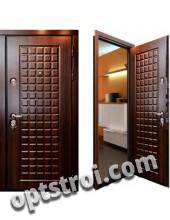 Входная металлическая дверь с повышенной тепло-шумоизоляцией - модель 875
