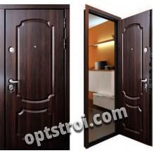 Входная металлическая дверь с повышенной тепло-шумоизоляцией - модель 877