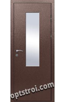 Входная металлическая дверь для офиса ДОФ-011