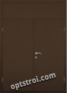 Входная металлическая двухстворчатая дверь ПР-021
