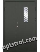 Входная металлическая техническая дверь ТЕХ-011