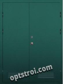 Входная металлическая техническая дверь ТЕХ-012