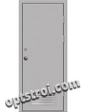 Входная металлическая техническая дверь ТЕХ-004