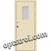 Входная металлическая техническая дверь ТЕХ-006