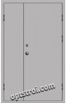 Входная металлическая техническая дверь ТЕХ-009