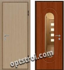 Входная металлическая дверь с зеркалом модель - ДЗ-001