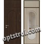 Входная металлическая дверь с зеркалом модель - ДЗ-011