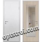 Входная металлическая дверь с зеркалом модель - ДЗ-014