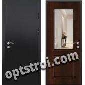 Входная металлическая дверь с зеркалом модель - ДЗ-017