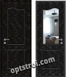 Входная металлическая дверь с зеркалом модель - ДЗ-019