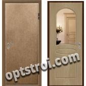 Входная металлическая дверь с зеркалом модель - ДЗ-002