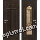 Входная металлическая дверь с зеркалом модель - ДЗ-020