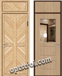 Входная металлическая дверь с зеркалом модель - ДЗ-003