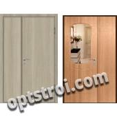 Входная металлическая дверь с зеркалом модель - ДЗ-004