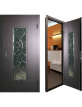 Металлическая дверь с ковкой К10-01
