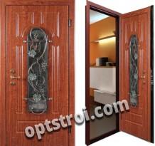 Металлическая дверь с ковкой К10-04