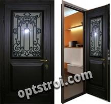 Металлическая дверь с ковкой К10-05