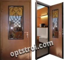 Металлическая дверь с ковкой К10-06
