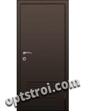 Входная металлическая дешевая тамбурная дверь модель - ТЭ-004
