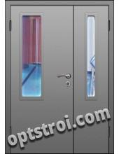 Входная металлическая дешевая тамбурная дверь модель - ТЭ-005