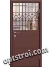 Входная металлическая дешевая тамбурная дверь модель - ТЭ-006