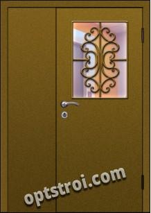 Входная металлическая тамбурная дверь на лестничную площадку модель - ТЛ-007
